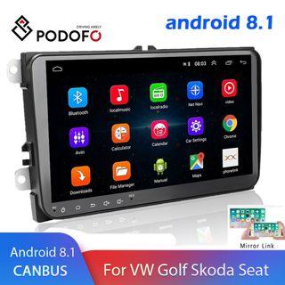 """9"""" 8.1 Android Multimedia Radio Coche GPS Wifi"""
