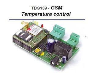 Termostato Con Control GSM Domotica
