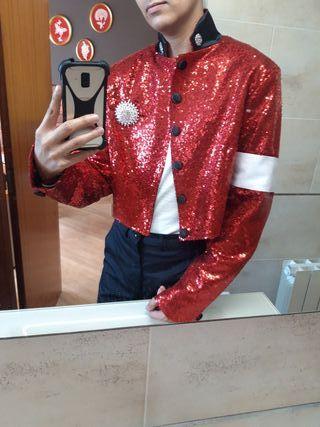Chaqueta Michael Jackson Roja