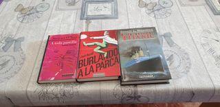 Lote de 3 libros (tapa dura)