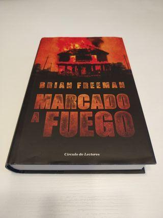 Libro MARCADO A FUEGO de Brian Freeman