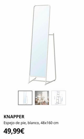 Espejo de pie Ikea