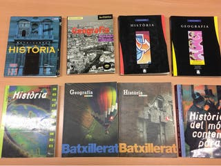 lote libros geografia i historia batxillerat