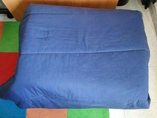 Puff- cama plegable