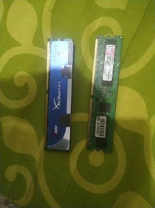 memoria ram de 1gbx2 para ordenador
