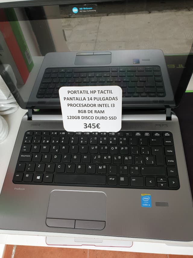 portatil hp i5 tactil