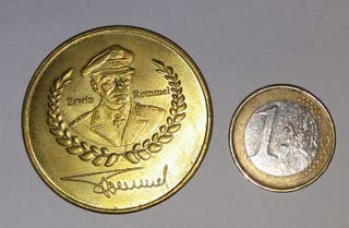 "Moneda Conmemorativa ""Erwin Rommel"""