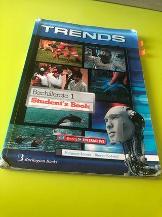 Libro inglés 1 bachillerato Trends