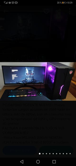 PC GAMING MSI ALTO RENDIMIENTO+MONITOR 29''