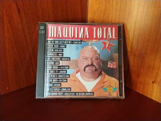 DOBLE CD MAQUINA TOTAL 8
