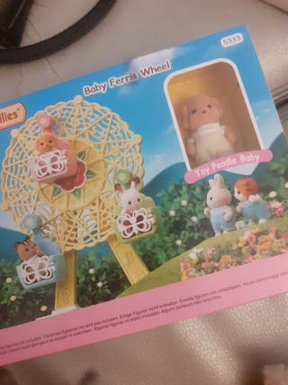 baby ferris wheel 5333 sylvanian families nuevo