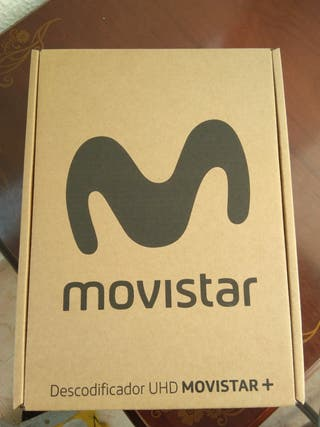 Decodificador 4k Movistar