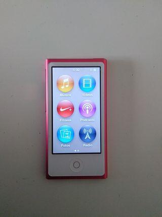 Apple Ipod nano rosa (7ma g) 16GB negociable