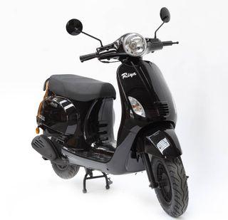 Moto Riya Rome 50 negra