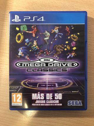Juego PS4 Sega Mega drive classics