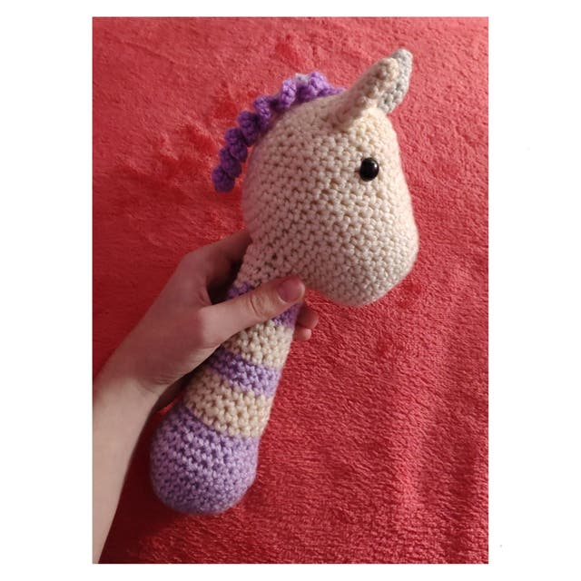 Sonajero Tejido Crochet Unicornio P/bebes Baby Shower - $ 310,00 ... | 640x640