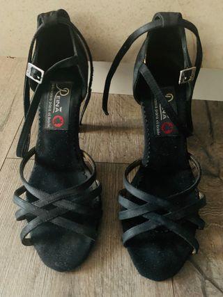 Zapatos de baile Manuel arriba negro 37