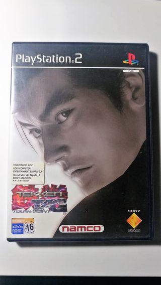Tekken Tag Tournament Playstation 2 PAL Esp Compl.