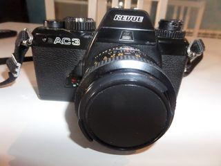 cámara reflex analògica REVUE