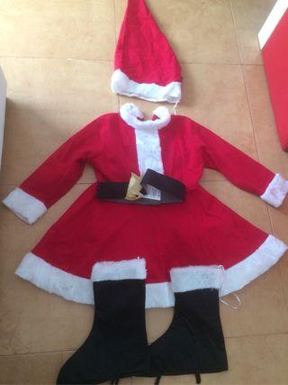 Disfraz niña Navidad