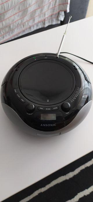 radio CD MP3 USB lector tarjetas sd