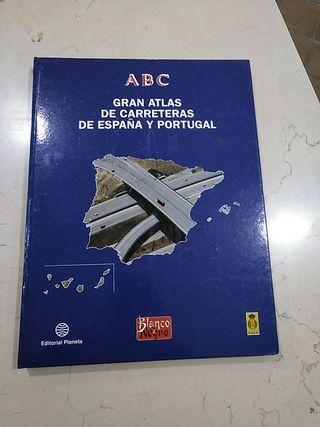 GRAN ATLAS DE CARRETERAS DE ESPAÑA Y PORTUGAL.