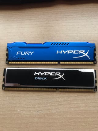 Memorias RAM DDR3 (2x4GB)
