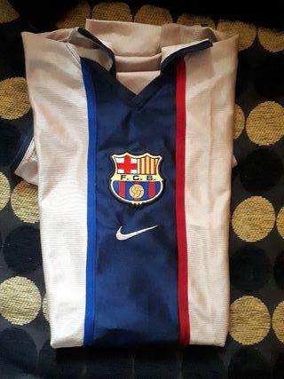 Camiseta 2 equipación Barça de Ronaldiño