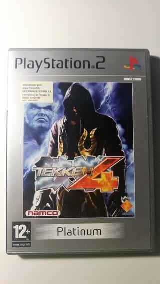 Tekken 4 Playstaion 2 PAL España Completo