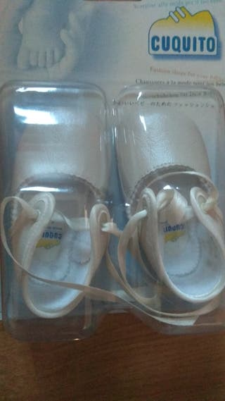 Zapatos cintas bebé