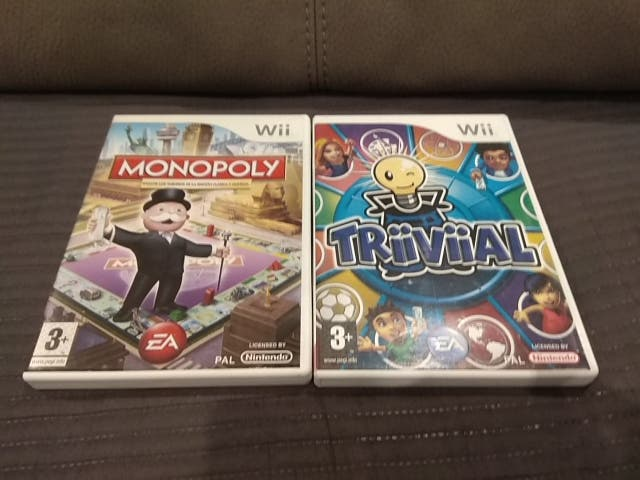 Pack Monopoly y Triiviial