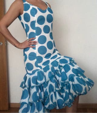Traje flamenca corto