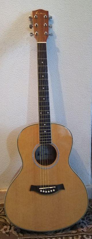 Guitarra acústica Blue Moon