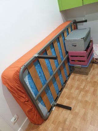 somier + colchón 90