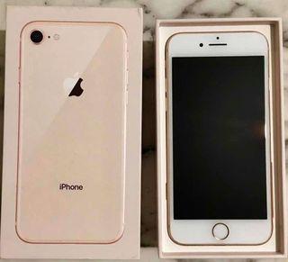 Apple iPhone 8 64 gb oro y blanco