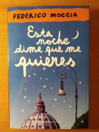 "Libro ""Esta noche dime que me quieres"" Moccia"