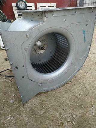 ventilador de equipo de aire acondicionado