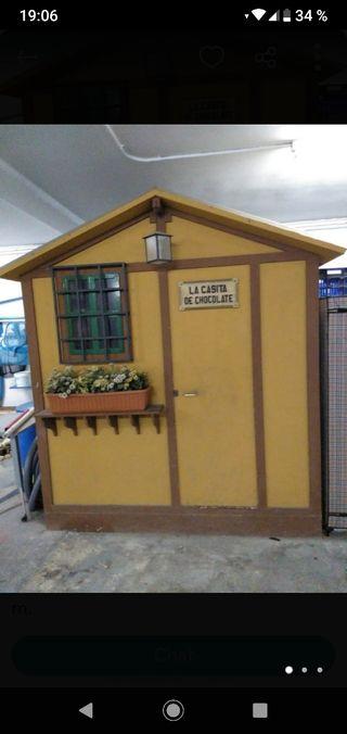 casita para niños de jardín