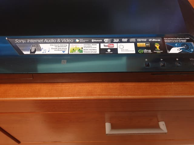 Bluray Sony con altavoces 2.1