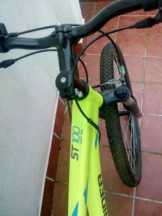 bicicleta rockrider del decathlon talla xs