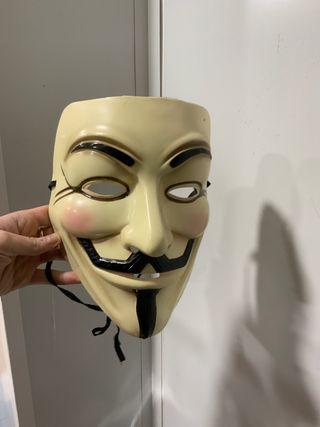 Máscara original de V de Vendetta