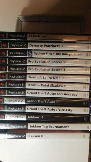 Videojuegos Varios de Playstation 2 PAL España