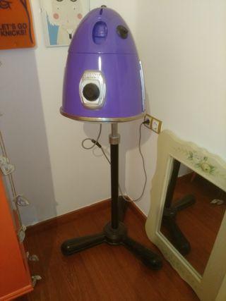 secador henrry antiguo,lampara