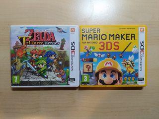 Nintendo 3ds 2ds Zelda Mario