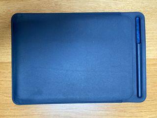 Apple leather sleeve. Funda para iPad