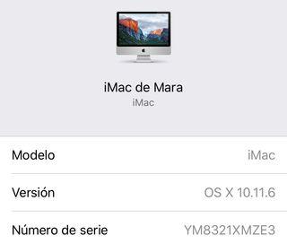 "iMac 20"" Apple"