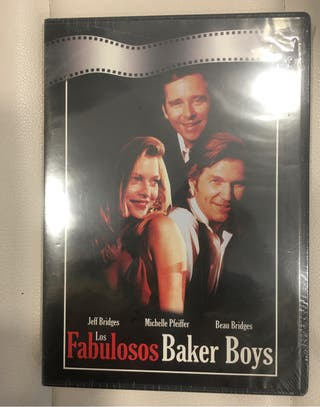 """Película en Dvd . """" Los fabulosos Baker boys""""."""