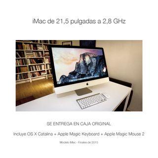 """iMac 21.5"""" 2.8GHz Intel Core i5 4 Núcleos 8GB Ram"""