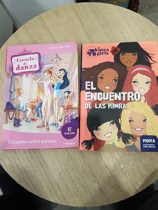 Libros juveniles Kinra, Escuela de danza
