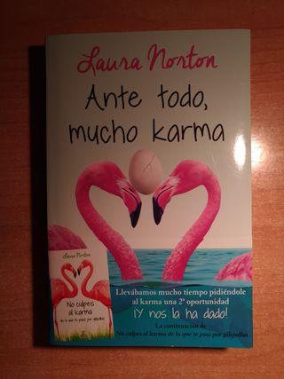 Ante todo mucho karma (Laura Norton)